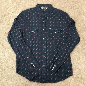 Urban Outfitters Long Sleeve Button Down MED